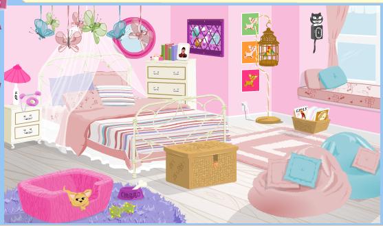 Bratz Bedroom Makeover Game