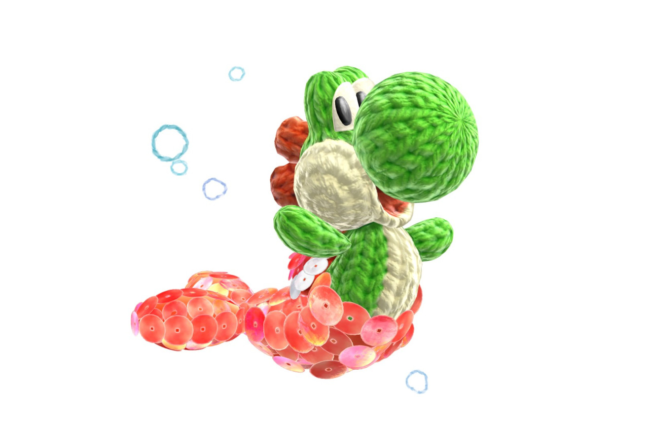 Knitting Pattern Yoshi : Crystal Dreams