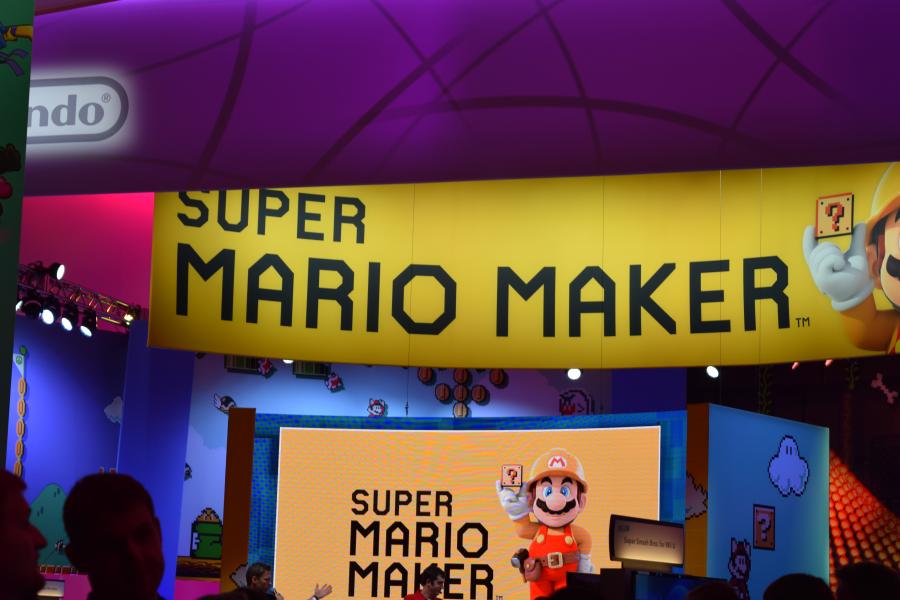 Super Mario Maker Area