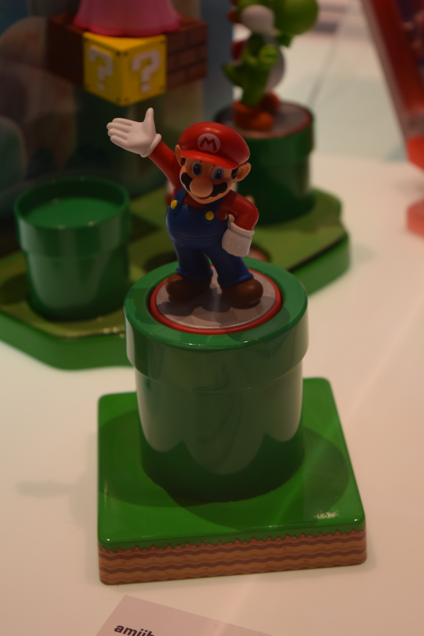 Pipe Amiibo Stand