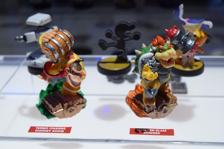 Skylanders/Amiibo DK and Bowser