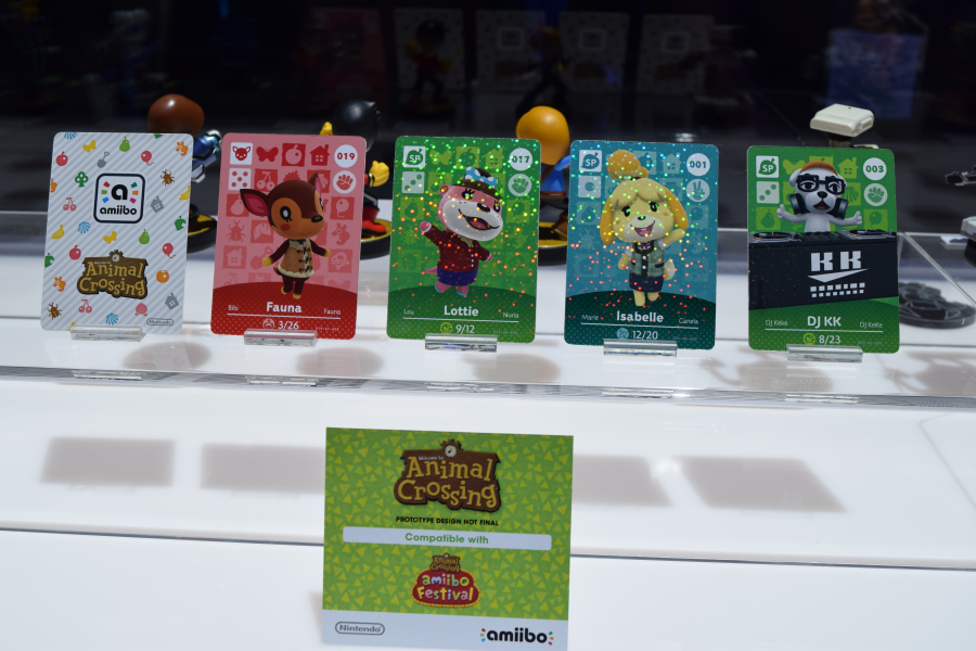 Animal Crossing Amiibo Cards Group Photo!