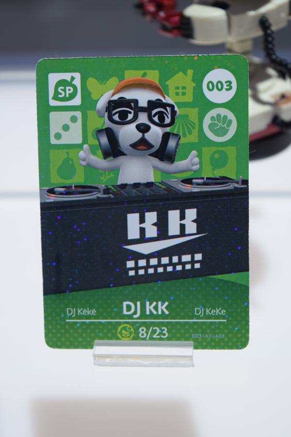 DJ K.K. Amiibo Card