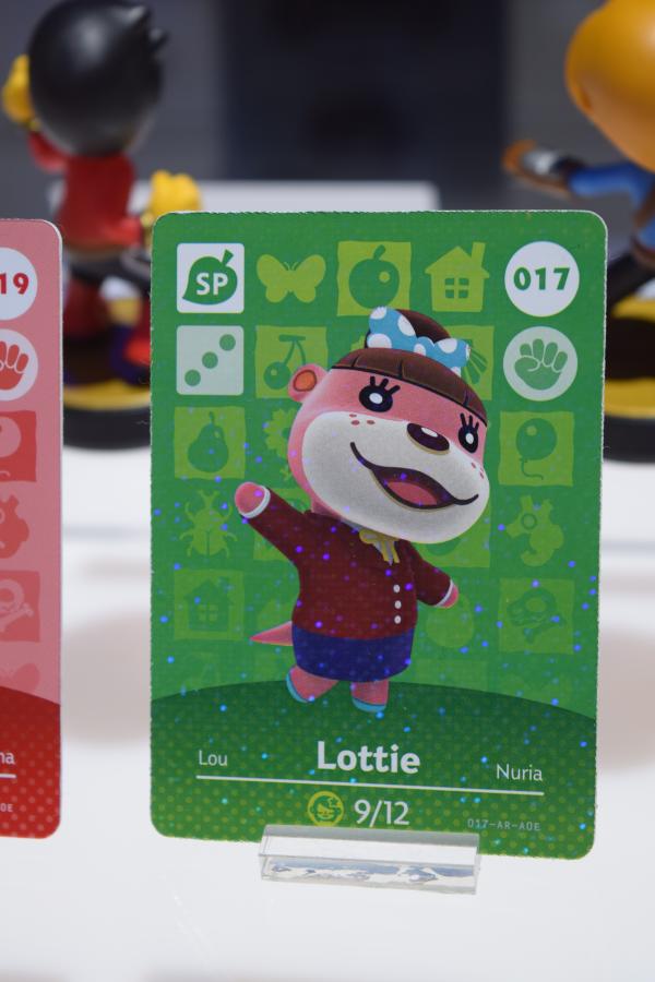 Lottie Amiibo Card