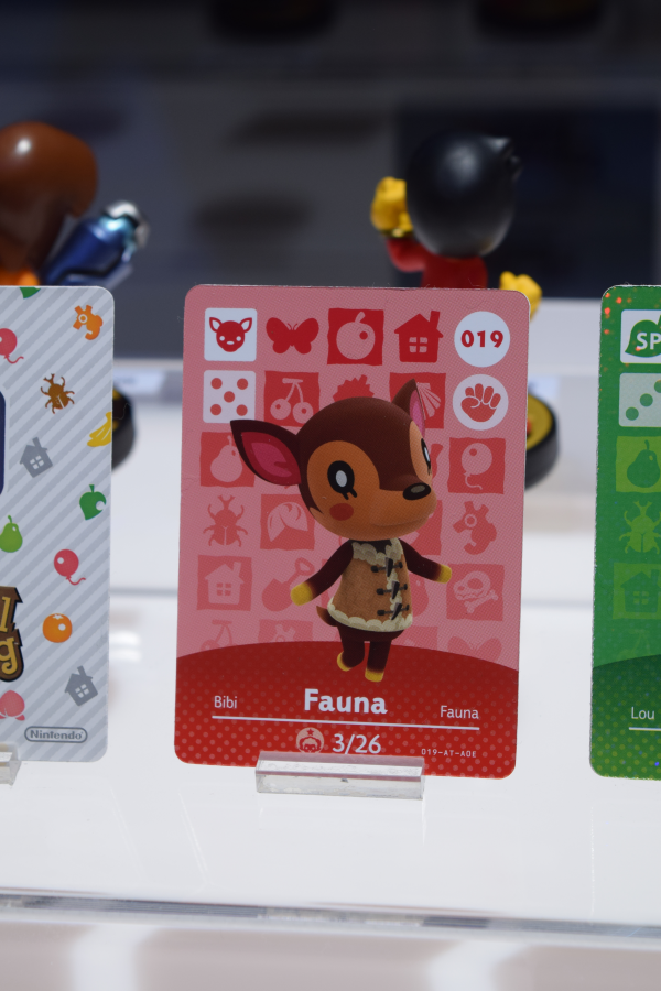 Fauna Amiibo Card