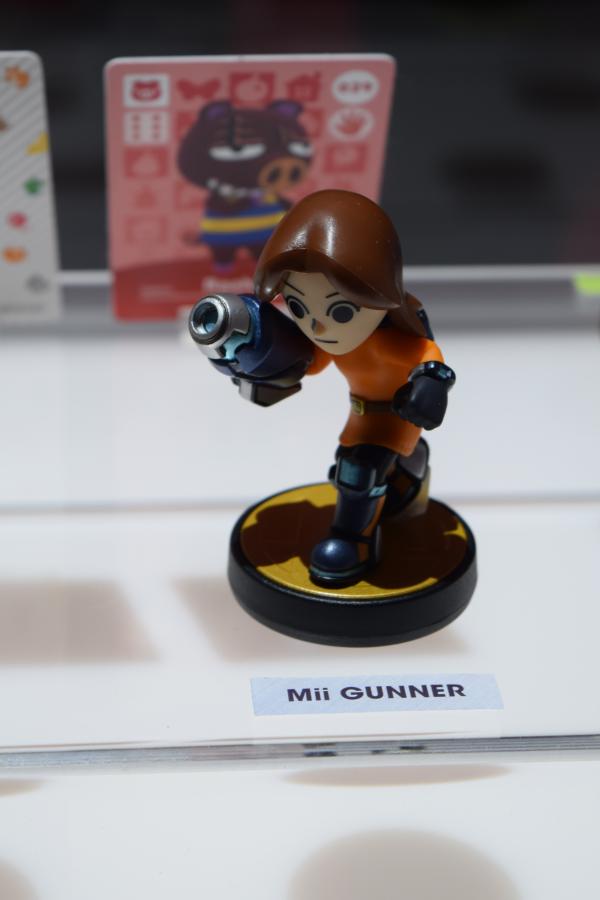 Mii Fighter - Gunner Amiibo