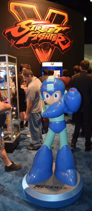 Capcom's MegaMan Display