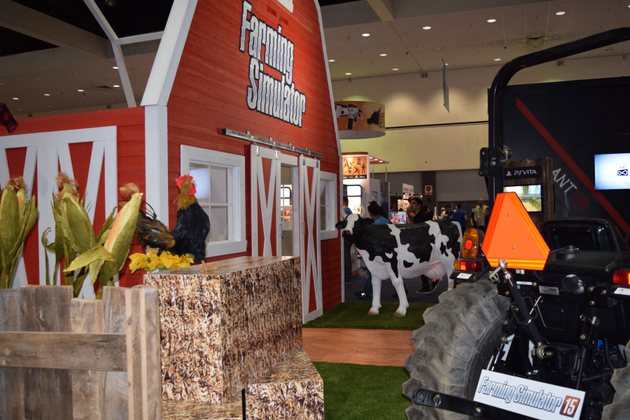 Farm Simulator Booth