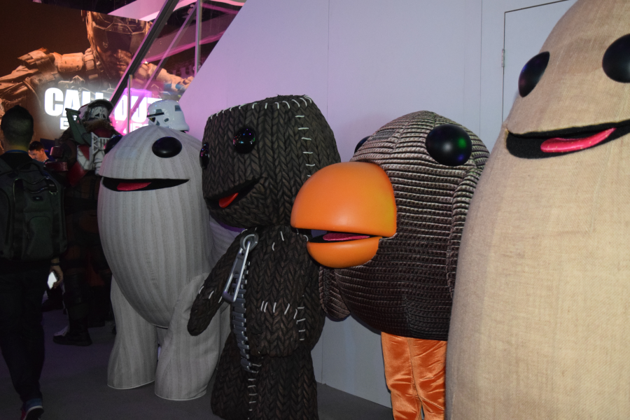 LittleBigPlanet Group Shot
