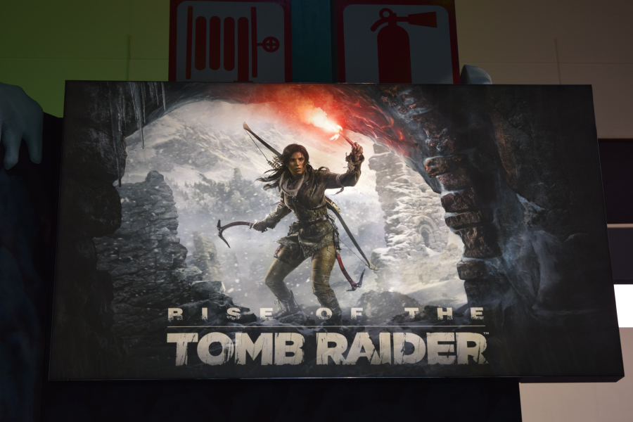 Tomb Raider Set-up