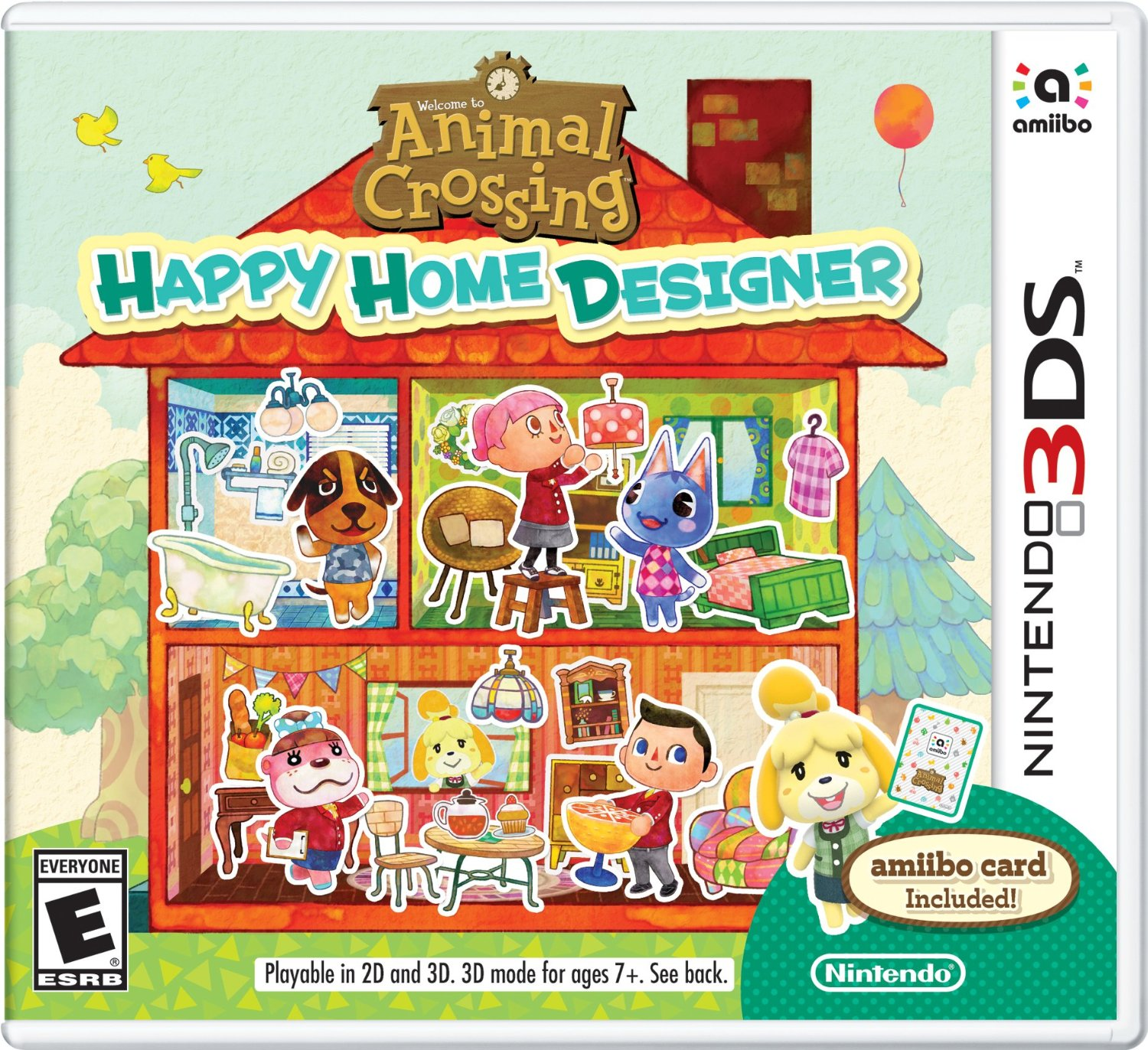 animal crossing happy home designer review - Home Design Game